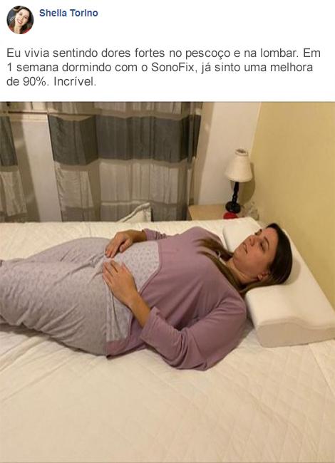 sonofix travesseiro